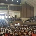 Pimpin Raker PGRI ,JWS serahkan 1600 SK guru honor dan Bantuan Biaya 400 guru program S 1