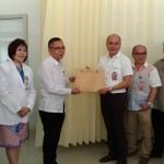 Tinangon terima hasil tes kesehatan Bapaslon Ivansa-CNR dan RR-RD