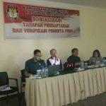 KPU Minahasa gelar rakor tahapan dan verifikasi peserta Pemilu