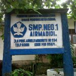 Pemindahan SMP Negeri I Airmadidi selesai UNBK