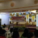 Paseki Pimpin Bintek PPDP di wilayah Pineleng