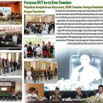 Perayaan HUT Ke 15 Kota Tomohon, Wujudkan Kesejahteraan Masyarakat, DPRD Tomohon Pertegas Komitmen Kerja Solid Dengan Pemerintah