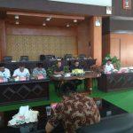 DPRD Kota Tomohon terima Kunker DPRD Minahasa, terkait LKPJ akhir masa jabatan Kepala Daerah