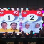KPU Gelar Pleno Terbuka Pengundian Nomor Urut Pilkada 2018 minahasa  Ivansa-CNR No (1 ) dan ROR-RD Raih No 2