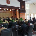 DPRD Kota Tomohon Gelar Paripurna Pengajuan Ranperda Penyerahan Prasarana, Sarana Dan Utilitas Umum Perumahan Dan Permukiman