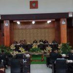 DPRD Gelar Paripurna Pengajuan Ranperda Penyertaan Modal Daerah Kota Tomohon Kepada PDAM