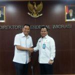 Hadirkan Pelayanan Paspor, Wali Kota Tomohon Sambangi Dirjen Imigrasi Kementerian Hukum dan Ham