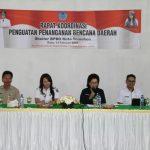 Waspadai Bencana, Biro Kesra Setda Prov Sulut dan BPBD Tomohon Gelar Rakor Penanganan Bencana