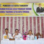 Pemkot Tomohon Gelar In House Training Penyusunan Rencana Kerja Perangkat Daerah