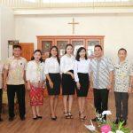 Tomohon Utus Tiga Orang Ikuti Diklat Flight Attendant Di BP3 Palembang