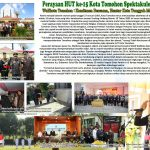 Perayaan HUT Ke-15 Kota Tomohon Spektakuler, Walikota Tomohon : Komitmen Bersama, Hentar Kota Tangguh Mendunia