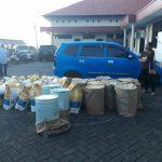 28 drum Sianida ditemukan polisi dalam gudang di Sukur