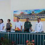 JFE Buka Rapat Koordinasi Pembangunan Pemkot Tomohon Triwulan I 2018