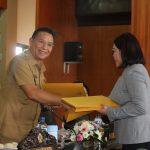 Wali Kota Hadiri Paripurna Pemandangan Umum Fraksi, Ranperda Penyertaan Modal Ke PDAM