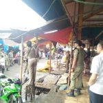 Pedagang Liar Di Pasar Beriman Tomohon Ditertibkan