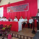 Bupati Minahasa Drs Royke H Mewoh Kunker  di seluru Kecamatan