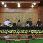 Ketua DPRD Miky Wenur Pimpin Paripurna Ranperda Penyerahan PSU-PP