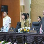 DPRD Tomohon Gelar Paripurna LKPJ Wali Kota Akhir T.a 2017