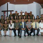 Sekkot Tomohon Hadiri Ibadah Paskah Di GMIM Damai Lahendong