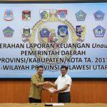 Usai Jalani Audit Interim, Pemkot Tomohon Serahkan LKPD 2017 Ke BPK-RI