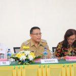 """Wali Kota Tomohon Targetkan Raih WTP """"Emas"""" Ke 5"""