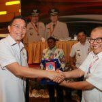 Wali Kota Tomohon Terima Penghargaan Pembangunan Daerah
