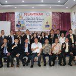 DPC LPM Kecamatan Se-Kota Tomohon Di Lantik, Eman: Tomohon Akan Jadi Tuan Rumah Mukernas LPM 2018
