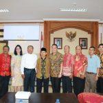 Bersama FKUB Kota Tomohon, Wali Kota Kunjungi FKUB Badung Bali