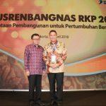 Wali Kota Jimmy Eman Hadiri Musrenbangnas RKP 2019