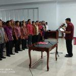 Mewoh Lantik 147 BPD Kabupaten Minahasa