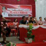 Mewoh ingatkan Pemerintah Desa harus seirama dengan BPD ,saat Kunker Di Kecamatan Tompaso