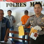 Polres Minahasa Tangkap Pengedar dan Pemakai Narkoba di Tondano,    Pusung : Pelaku Mantan Residivis Kasus yang Sama
