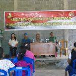 Kodim 1310/Bitung Gandeng DPPKB Kota Bitung Laksanakan Bakti Sosial KB Kesehatan