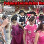 Dispar Minut Apresiasi Pergelaran Seni dan Budaya di Sawangan