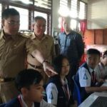 Bupati Mewoh Tinjau Pelaksanaan UNBK Tingkat SMP di Minahasa