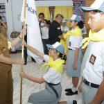 Lantik PMR SMK, SAS: Jadilah Pelopor Kemanusiaan di Sekolah
