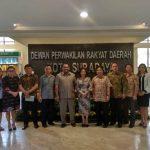 Komisi I dan BK DPRD Tomohon Kunker Ke Kota Surabaya Jatim