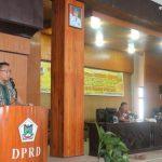 Pemkot Tomohon, Fasilitasi Sosialisasi Peraturan Perundang Undangan Perda Kota Tomohon Nomor 7 Tahun 2016