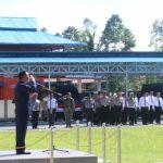 Wali Kota Tomohon Hadiri Apel Gelar Pasukan Operasi Ketupat Samrat 2018