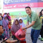 Sambut Idul Fitri 1439H, Pemkot Tomohon Berikan Bantuan Sembako Kepada Anak Yatim Piatu Umat Muslim