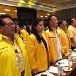 Jimmy Eman Hadiri Orientasi Fungsionaris dan Rakerda Partai Golkar Provinsi Sulawesi Utara
