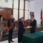 DPRD Minahasa gelar Paripurna istimewa Pengumuman hasil Penetapan Calon Bupati dan Wakil Minahasa Terpilih