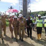 VAP Dampingi Olly Dondokambey Inspeksi Proyek Jalan Tol Manado – Bitung