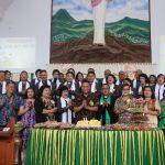 Wali Kota Tomohon Hadiri HUT Ke-11 Jemaat GMIM Anugerah Paslaten