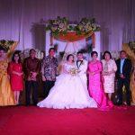 Wali Kota dan Wawali Tomohon Hadiri Resepsi Pernikahan David-Hanna