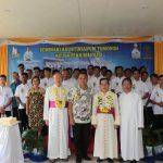 Wali Kota Jimmy Eman, Hadiri Perayaan Ekaristi 40 Tahun Seminari Agustianum