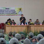Wali Kota Tomohon Hadiri Dialog Bersama Tokoh Masyarakat Linmas dan Perangkat Kelurahan