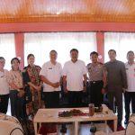 Eman Presentasikan TIFF 2018 Dihadapan Gubernur dan Kapolda Sulut
