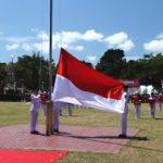 Bupati Minahasa Royke Mewoh IRUP Detik-Detik HUT Proklamasi RI Ke 73 Di Minahasa