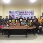 Diskusi HUT AJI ke 24,Pers Bertanggung Jawab Terhadap Kualitas Legislator yang Terpilih